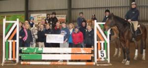 Beechlane Equestrian cheque handover