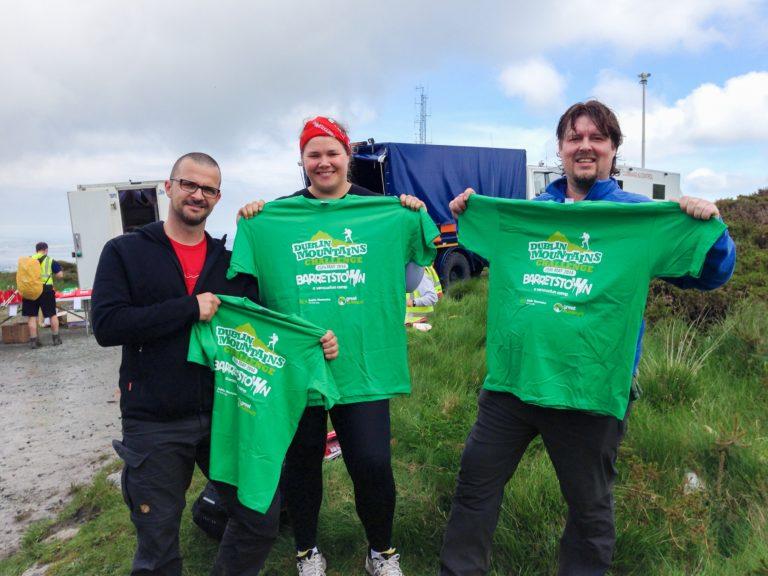 Barretstown Dublin Mountains Challenge 2014