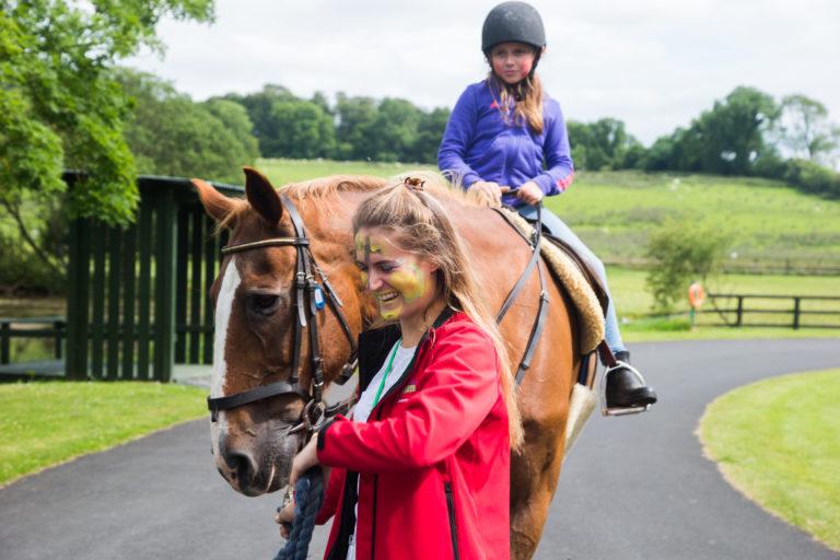 Horses at Barretstown