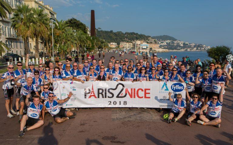 Paris 2 Nice Charity Cycle